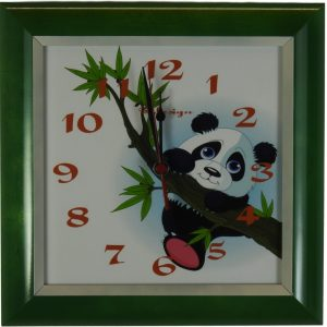 OTROŠKA stenska ura – Panda