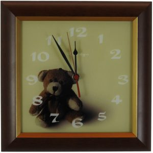 OTROŠKA stenska ura – Medvedek
