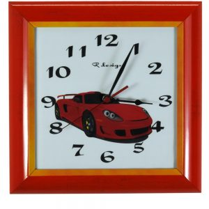 OTROŠKA stenska ura – Avtomobil