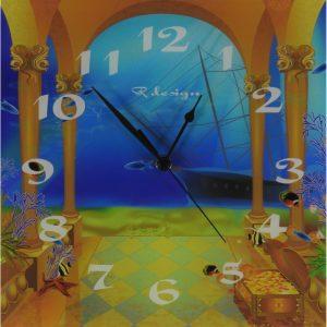 Unikatna stenska ura – Podvodni zaklad
