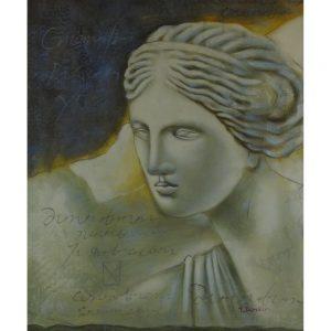 Slika na platnu – Statua