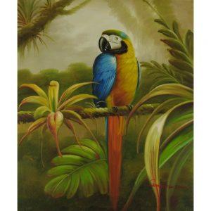 Slika na platnu – Papiga