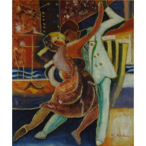 Slika na platnu – Plesalca
