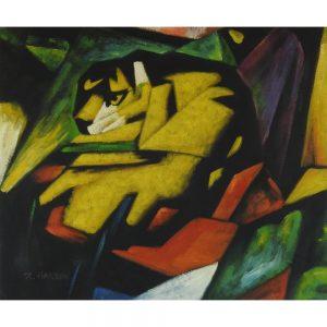 Slika na platnu – Abstrakt muce
