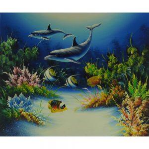 Slika na platnu – Podvodni svet
