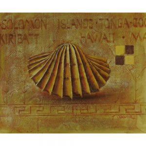 Slika na platnu – Školjka