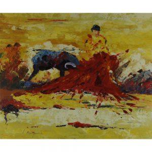 Slika na platnu – Bikoborba