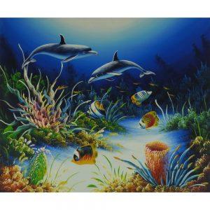 Slika na platnu – Morski svet 2