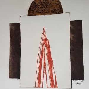 "Dževad Hozo – Original Aquatint ""Broad II."""