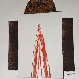 """Dževad Hozo – Original Aquatint """"Broad II."""""""